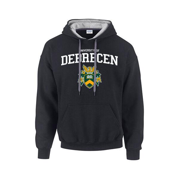 UD fekete bebújós pulóver XL