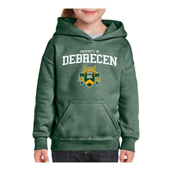 UD koptatott zöld bebújós pulóver XS